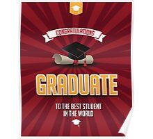 Congratulations graduate Poster