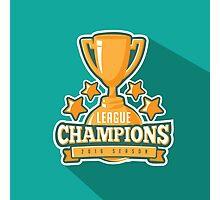 League Champions insignia Photographic Print