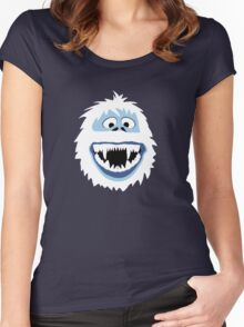 Bumble Face Women's Fitted Scoop T-Shirt