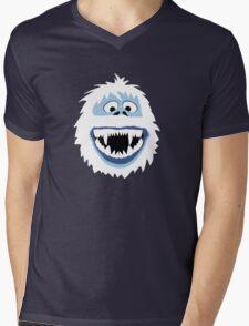 Bumble Face Mens V-Neck T-Shirt