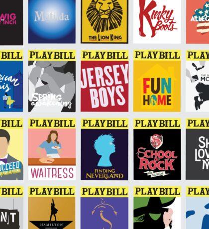 Playbill Collage Sticker