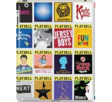 Playbill Collage iPad Case/Skin