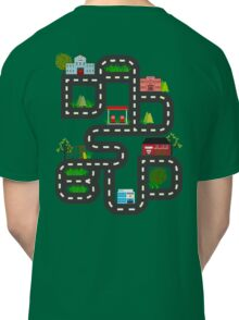 Dad's Bud Road Map Playtime Design Classic T-Shirt