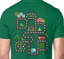 Dad's Bud Road Map Playtime Design Unisex T-Shirt