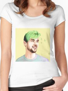 Jacksepticeye Women's Fitted Scoop T-Shirt