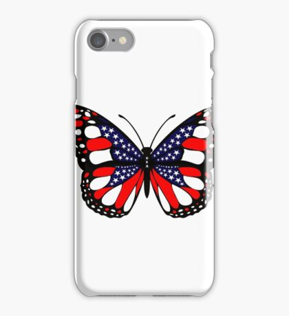 Patriot Butterfly iPhone Case/Skin