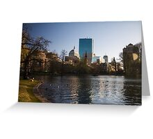 Boston Day Greeting Card