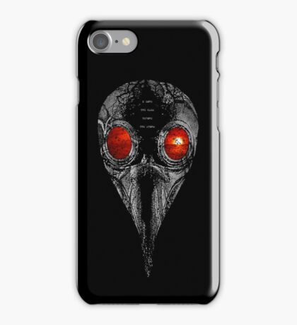 i love the calm before the storm iPhone Case/Skin