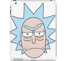 angry rick iPad Case/Skin