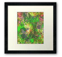 Jungle Of Colour Framed Print