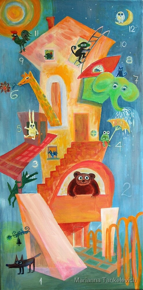 Goofy House  by Marianna Tankelevich