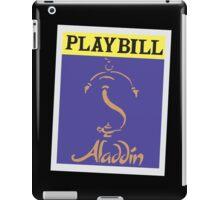 Aladdin Playbill iPad Case/Skin