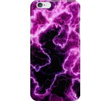 pink marble light iPhone Case/Skin