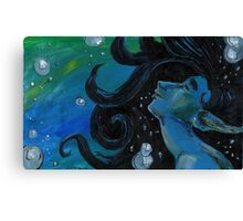 Bubbly Flow Canvas Print