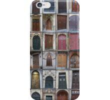 Doors of Europe iPhone Case/Skin