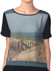 Over the dunes Chiffon Top
