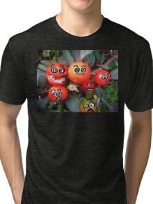 Attack of the Mini-Killer Tomatoes! Tri-blend T-Shirt