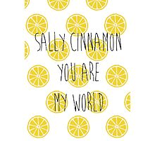 The Stone Roses Sally Cinnamon  Photographic Print