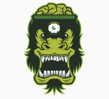 Irradiated Gorilla Brains Kids Tee