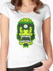 Irradiated Gorilla Brains Women's Fitted Scoop T-Shirt