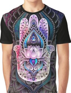 Hamsa Color2 Graphic T-Shirt