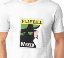 Wicked Playbill Unisex T-Shirt