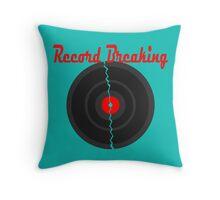 Record Breaking Throw Pillow