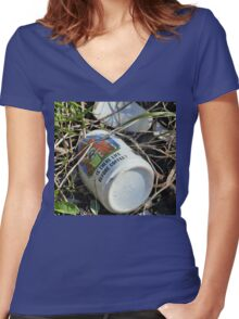 Ugh Mug Women's Fitted V-Neck T-Shirt