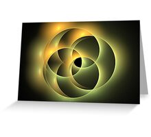 Earth Ovals Greeting Card