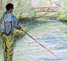 The Fisherman Sticker