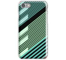Abstract Striped Island iPhone Case/Skin