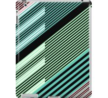 Abstract Striped Island iPad Case/Skin