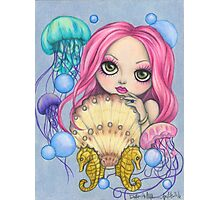 Amora, the Jellyfish Whisperer Photographic Print