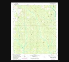 USGS TOPO Map Alabama AL Dogwood Creek 303682 1978 24000 Unisex T-Shirt