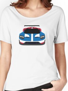 GT Race car simplistic design Women's Relaxed Fit T-Shirt