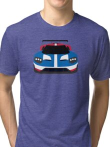 GT Race car simplistic design Tri-blend T-Shirt