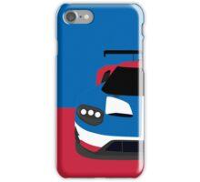 GT Race car simplistic design iPhone Case/Skin