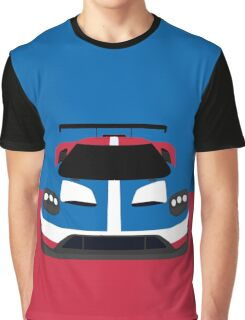 GT Race car simplistic design Graphic T-Shirt