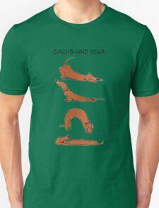 Dachshund Yoga Unisex T-Shirt