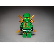 Ninja Green Photographic Print