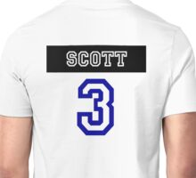Lucas Scott Jersey Number Unisex T-Shirt