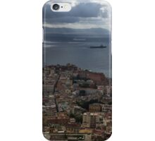 A Bird's-eye View of Naples, Italy iPhone Case/Skin