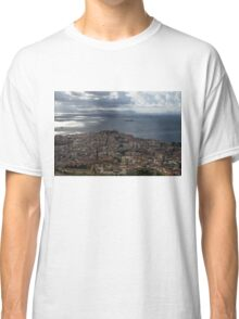 A Bird's-eye View of Naples, Italy Classic T-Shirt