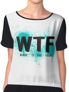 WTF Chiffon Top