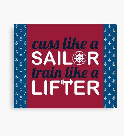 Sailor Lifter Canvas Print