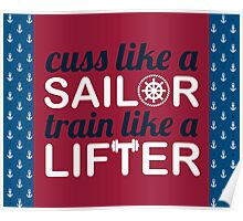 Sailor Lifter Poster