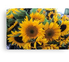 Farmers' Market Bouquet Canvas Print