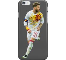 Sergio Ramos - Spain Render iPhone Case/Skin