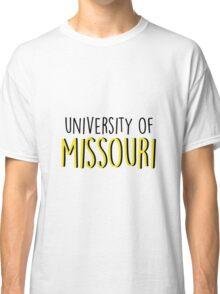 University of Missouri Classic T-Shirt
