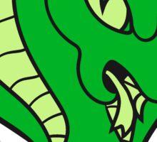 pot summon cobra cool rattlesnake bite angry dangerous deadly comic cartoon Sticker